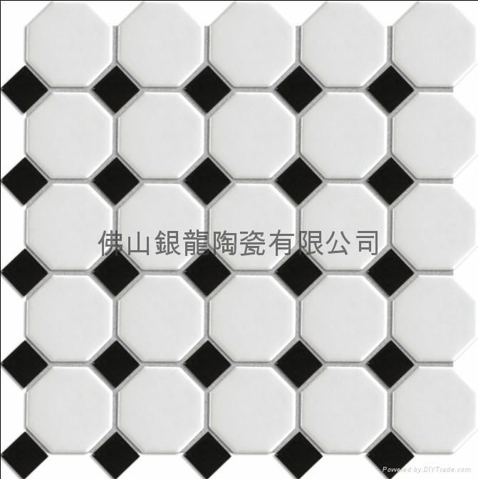 佛山厂家供应八角形陶瓷马赛克 1