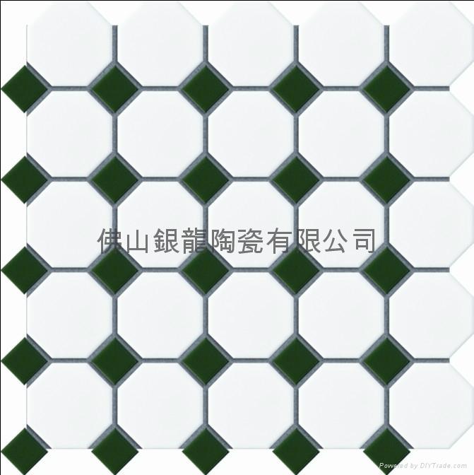 佛山厂家供应八角形陶瓷马赛克 2