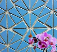 不规则拼贴碎拼陶瓷马赛克瓷砖DIY拼图拼花