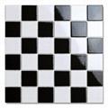 泸州陶瓷马赛克防滑瓷砖耐磨48黑白地砖 2