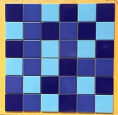 Ceramic pool mosaic  Swi
