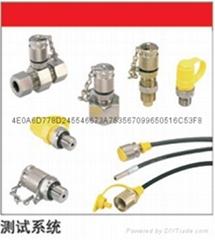 STAUFF測壓接頭/膠管系統