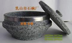韩式拌饭石碗