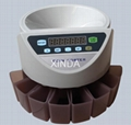 Coin counter and sorter 1