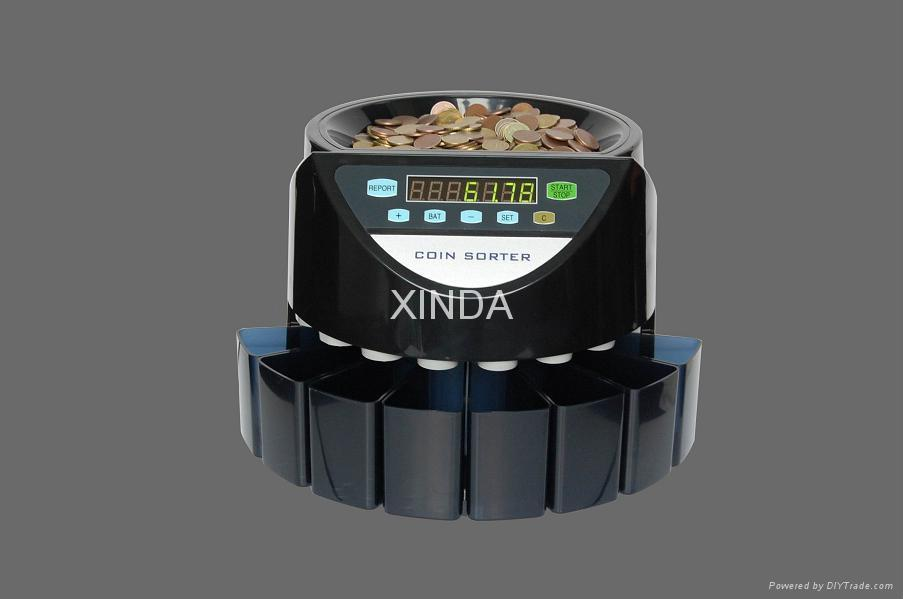 Coin counter and sorter 2