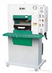 供應CY-751型液壓鞋面壓花機系列/制鞋機械