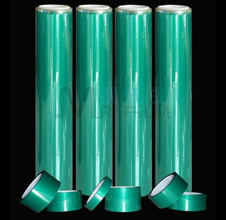 Heat Resisting Protection Green Film 1