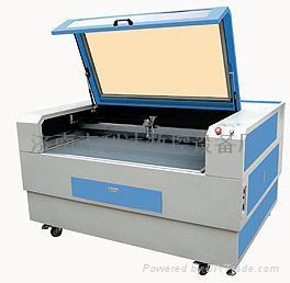 皮革布料激光切割机 1