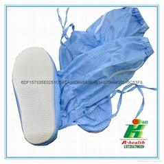 antistatic lint-free cleanroom booties