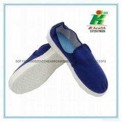 防靜電帆布中巾工作鞋子
