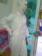 防靜電連體潔淨工作服裝