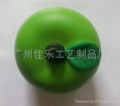 PU apple stressball