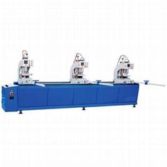 塑鋼型材四位焊接機