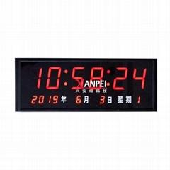 wifi网络电子钟 无线同步时钟