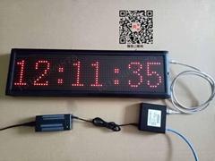POE网络电子时钟 网络供电同步时钟