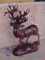 紅木雕鹿 5