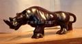 木雕犀牛 3