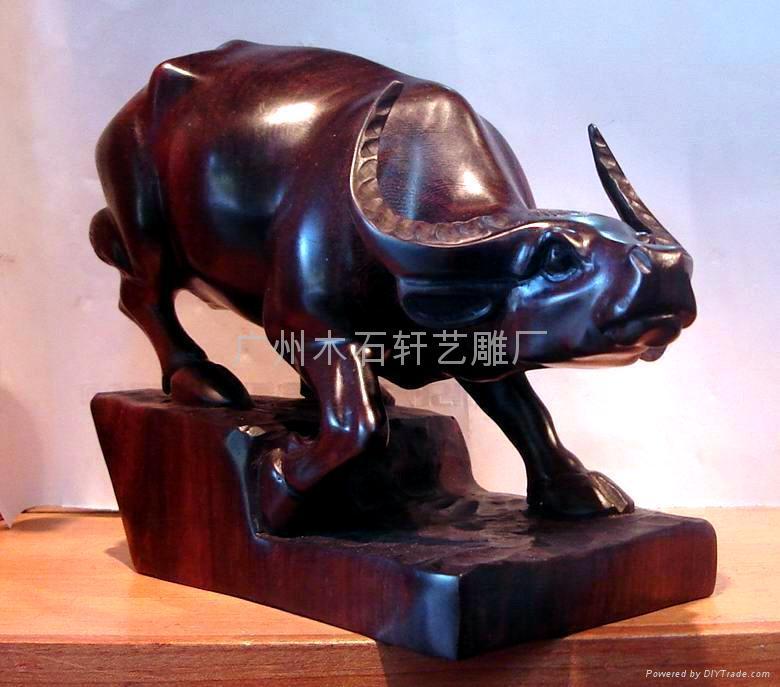 木雕牛 4