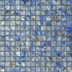 染色贝壳马赛克饰面板