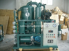 ZYD Luxury Vacuum Transformer Oil Purifier machine