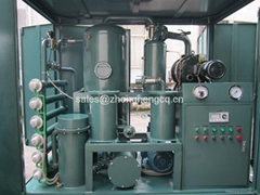 Supply High Efficiency Vacuum Transformer Oil Purifier, Zhongneng Oil Purifier