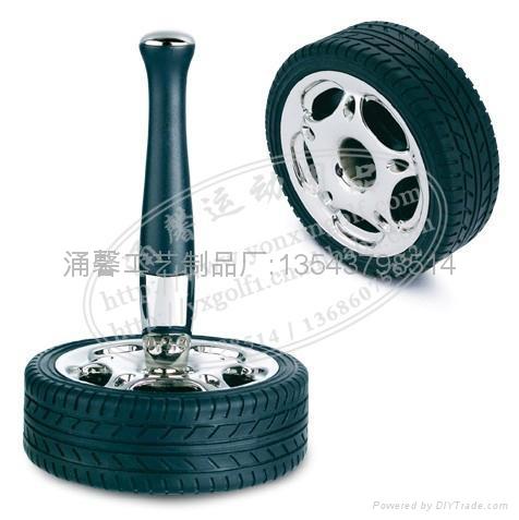 汽車輪胎便簽夾 4