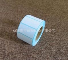 厂家提供可定制的空白不干胶标签