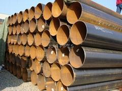 API standard ERW steel pipe