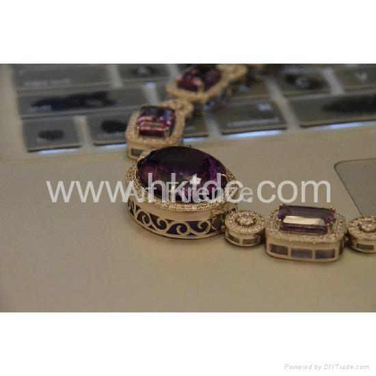 紫晶项链 4