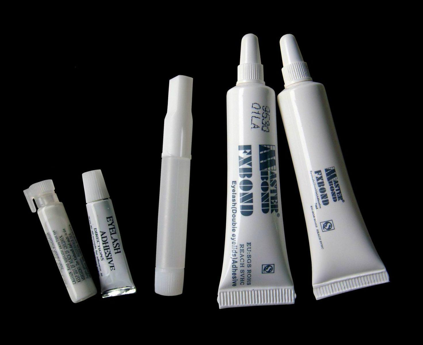 white eyelash glue for strip lashes  2