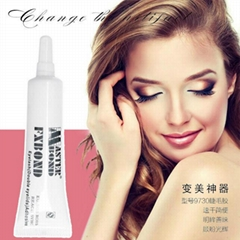 clear/black eyelash glue for strip lashes