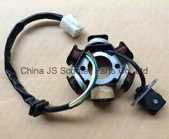 6-Coil Full-Wave Magneto Stator for 50cc-125cc Electrical Start ATV, Dirt Bike &