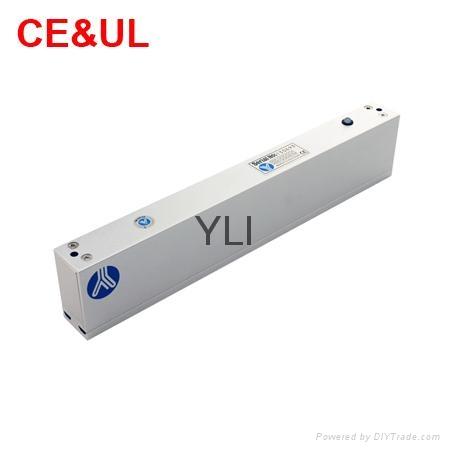 意林品牌YLI YM-280(LED)280kg單門磁力鎖帶信號和LED CE UL MA 2
