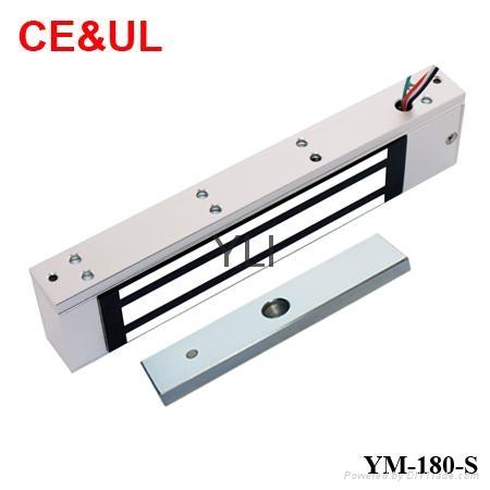 意林品牌 YM-180-S 180kg單門電磁力鎖附信號輸出(350lbs) CE/UL/MA 1