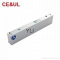 意林品牌YLI YM-280T(LED)280kg單門磁力鎖帶信號,LED和延時功能 CE/UL/MA 2