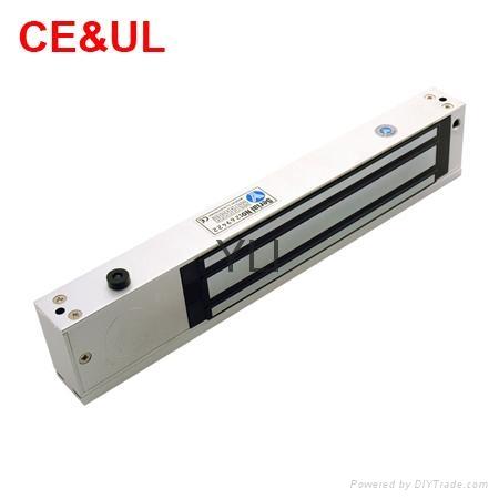 意林品牌YLI YM-280T(LED)280kg單門磁力鎖帶信號,LED和延時功能 CE/UL/MA 3