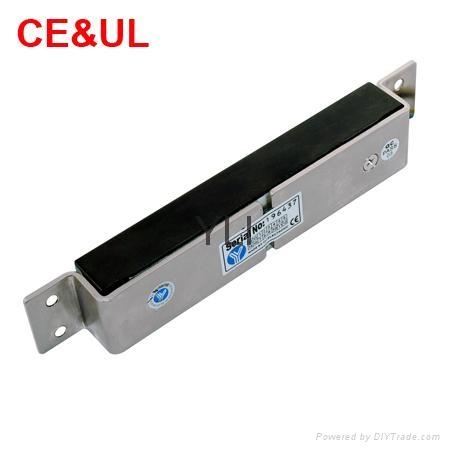 意林品牌 YM-180M 180kg單門埋入式磁力鎖(350lbs) CE/UL/MA 3