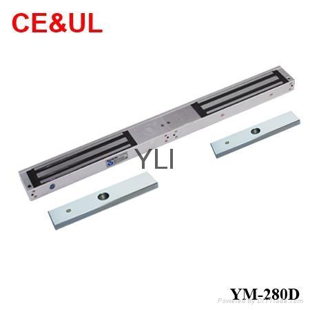 意林品牌 YM-280D 280kg雙門電磁力鎖(600lbs*2) CE/UL/MA 1