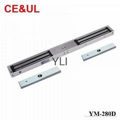 意林品牌 YM-280D 280kg雙門電磁力鎖(600lbs*2) CE/UL/MA