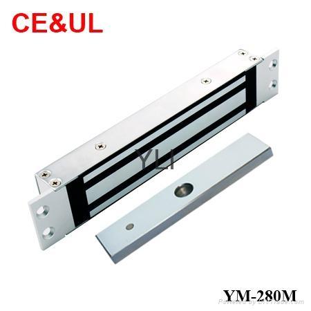 意林品牌 YM-280M 280kg單門埋入式磁力鎖(600lbs) CE MA 1