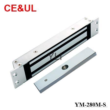 意林品牌 YM-280M-S 280kg單門嵌入式電子磁力鎖附信號(600lbs) CE MA 1