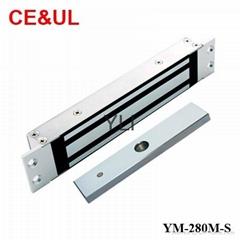 意林品牌 YM-280M-S 280kg單門嵌入式電子磁力鎖附信號(600lbs) CE MA
