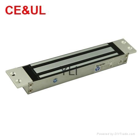 意林品牌 YM-280M-S 280kg單門嵌入式電子磁力鎖附信號(600lbs) CE MA 2