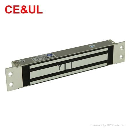 意林品牌 YM-280M-S 280kg單門嵌入式電子磁力鎖附信號(600lbs) CE MA 3
