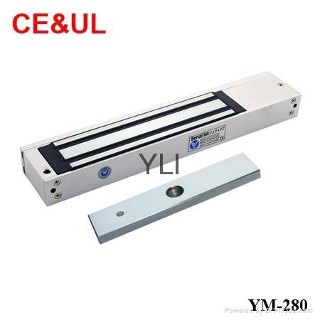 意林品牌 YM-280 280kg單門電子磁力鎖(600lbs) CE/UL/MA 1