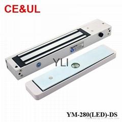 意林品牌 YM-280(LED)-DS 280kg磁力鎖帶門磁和鎖雙信號 LED CE UL MA