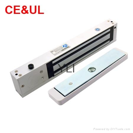 意林品牌 YM-280(LED)-DS 280kg磁力鎖帶門磁和鎖雙信號 LED CE UL MA 2