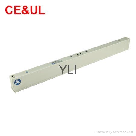 意林品牌YLI YM-280TD(LED)280kg雙門電子磁力鎖帶信號LED和延時功能 CE UL MA 2