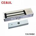 意林品牌 YM-500BZ 500公斤大鐵門用電子磁力鎖帶報警功能(1200lbs) CE MA 1
