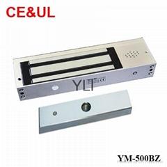 意林品牌 YM-500BZ 500公斤大鐵門用電子磁力鎖帶報警功能(1200lbs) CE MA